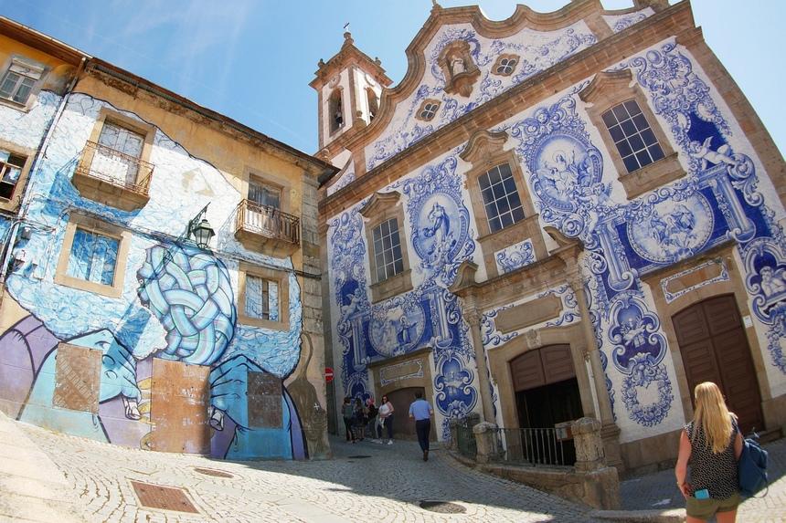 Ik zei het al: Portugees blauw is overal!
