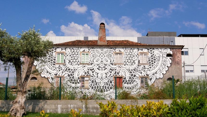 In de textiel-regio raken artiesten geïnspireerd door: textiel...