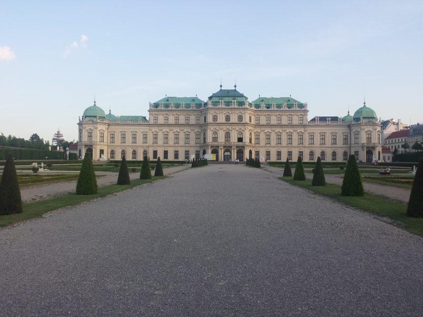 Schloss Belvedere in Wenen