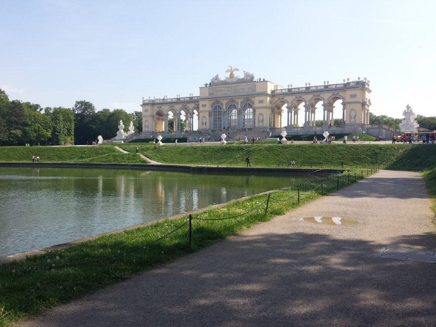 De Gloriette van Schloss Schönbrunn