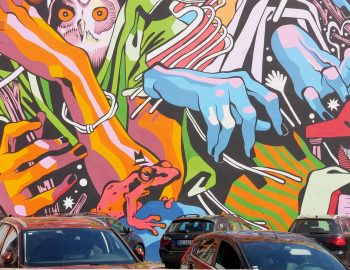 Portugal – Street Art in het groen