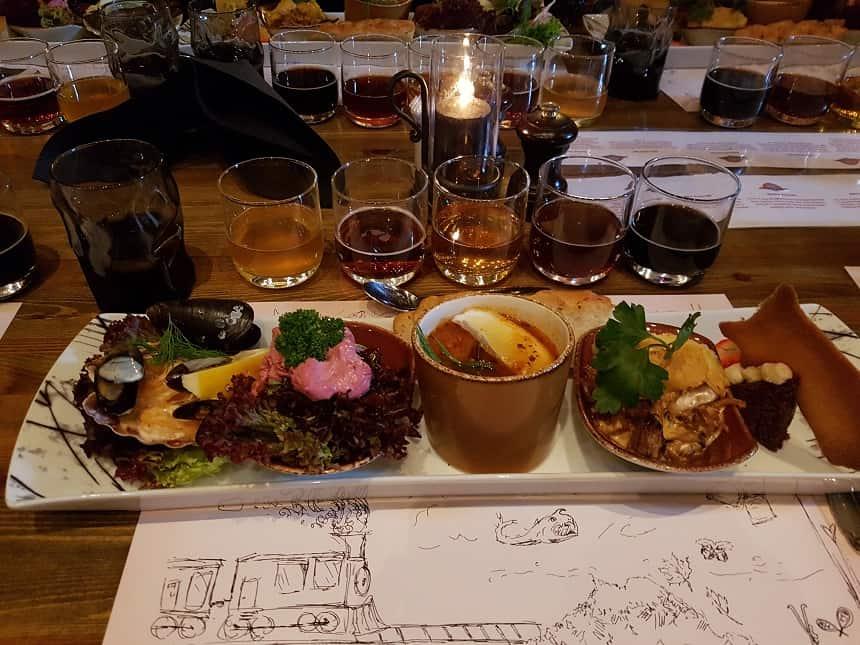Viking diner na de fjordsafari
