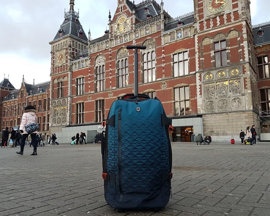 Met de Vx Touring kun je citytrippen in Amsterdam