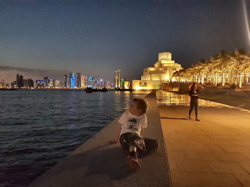 Skyline van Doha