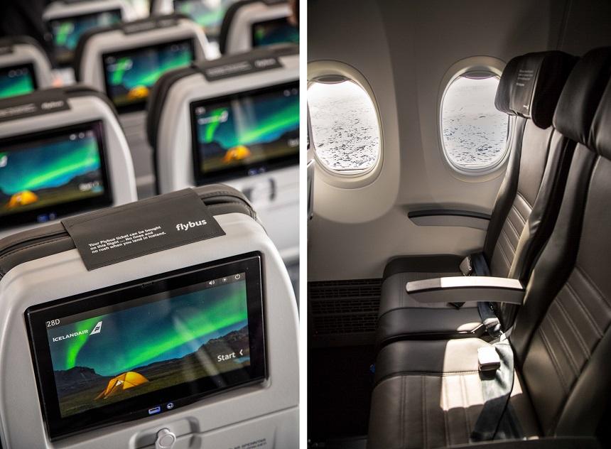 Interieur Icelandair
