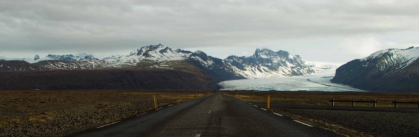 ijsland natuur - gletsjers spotten vanaf de ringroad