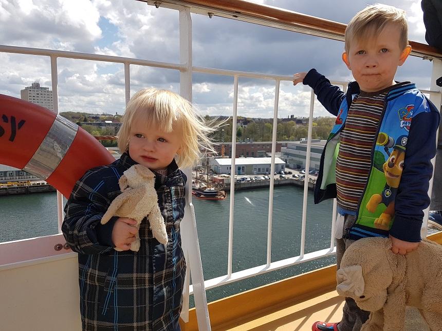 overtocht noorwegen kinderen