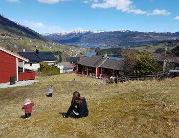 Fjell en Fjord Noorwegen