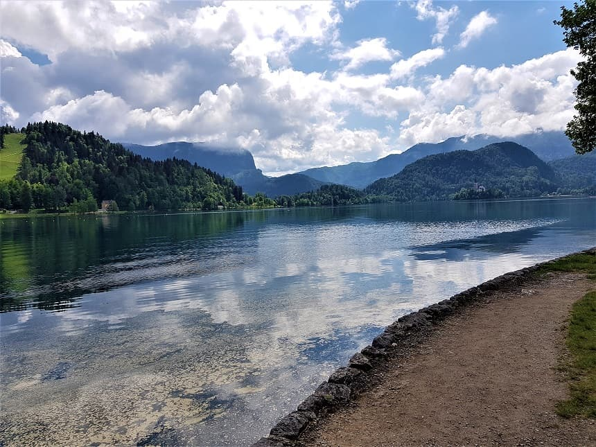 Een rondje om Lake Bled