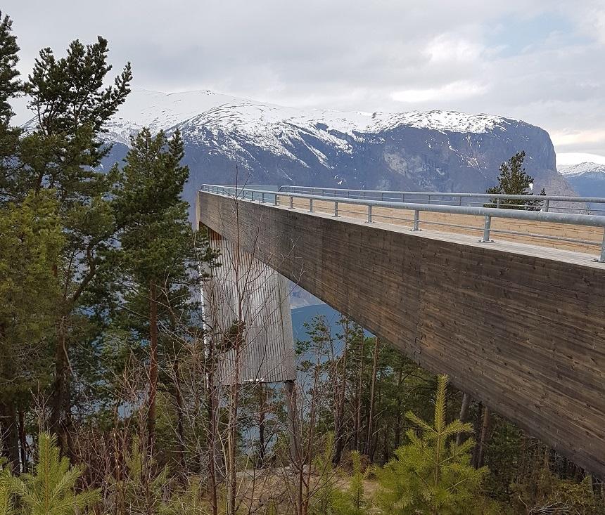 Stegastein viewingpoint Aurlandsfjellet