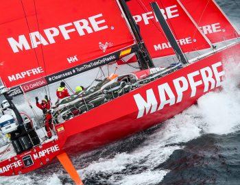 De ontknoping van de Volvo Ocean Race
