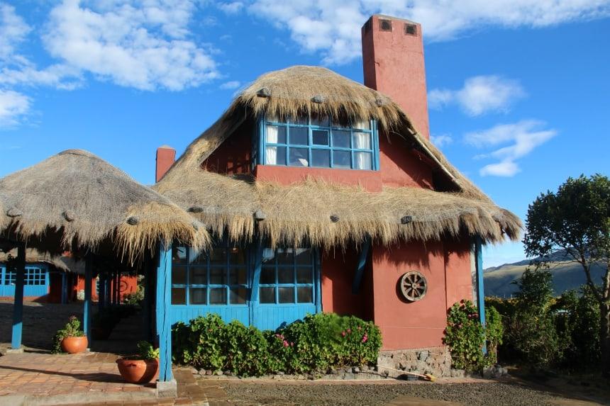 Overnachten op een boerderij in Ecuador: dat kan bij Hacienda El Porvenir