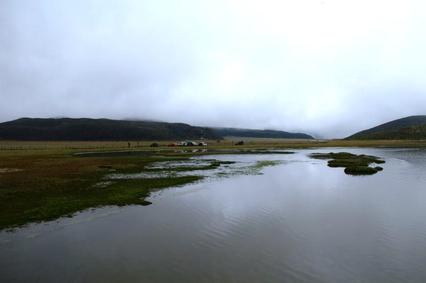 Laguna Limpiopungo in Cotopaxi Nationaal Park