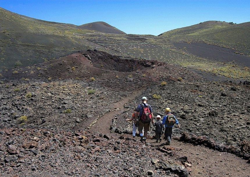 De Vulkanenroute op La Palma