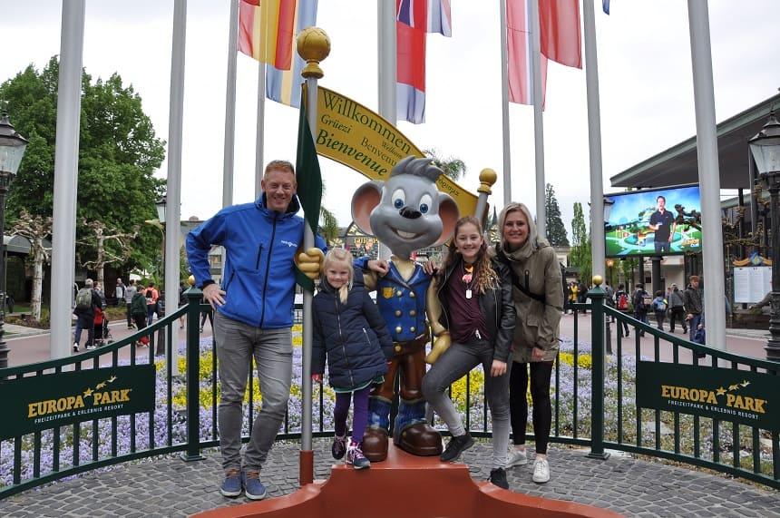 Ed Euromaus, de mascotte van het Europa-Park