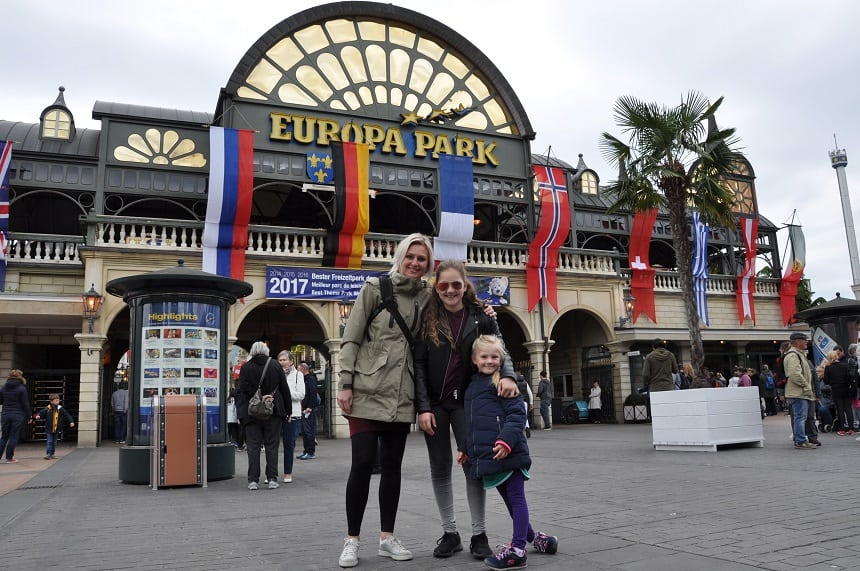 Entree Europa-Park Family