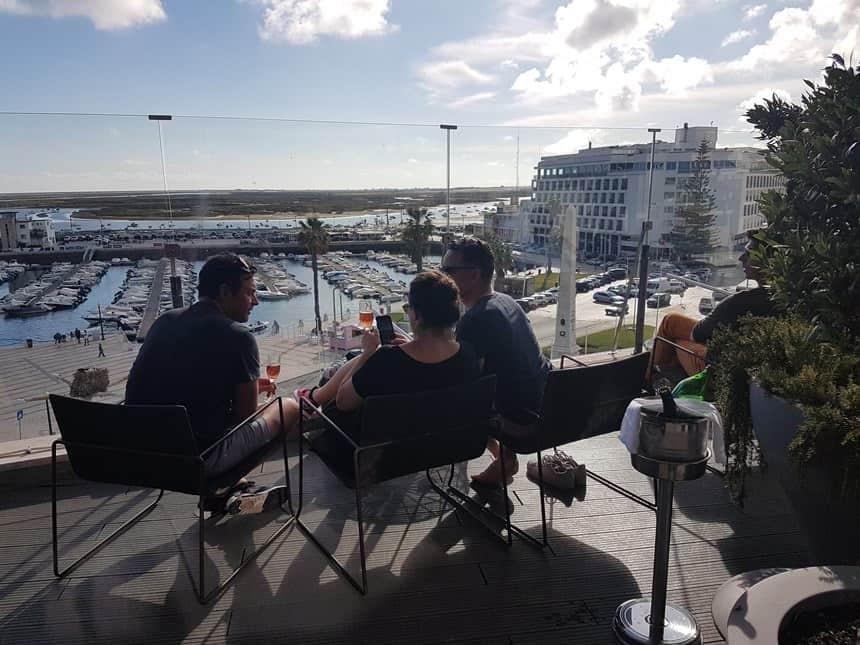 Faro panorama café