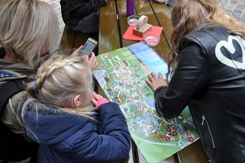 Het Europa-park is overzichtelijk en de Europa-Park app is heel handig