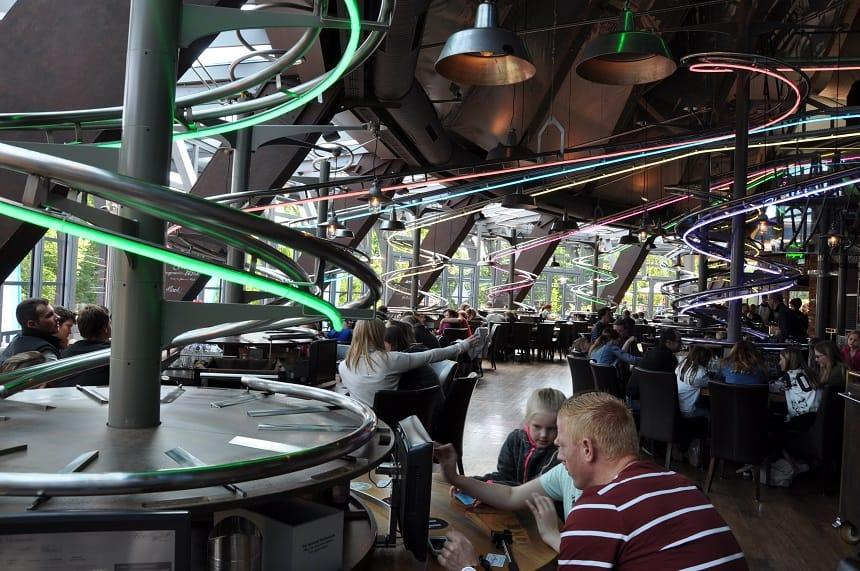 Het eerste Food-loop restaurant ter wereld