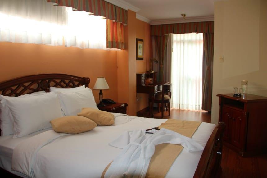 De kamers van Casa Aliso in Quito zijn individueel ingericht