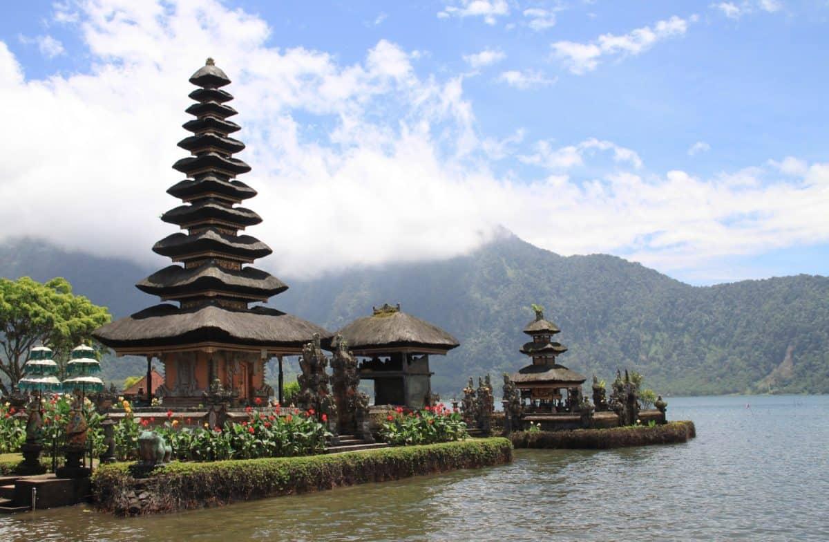 Pagoda in Indonesië