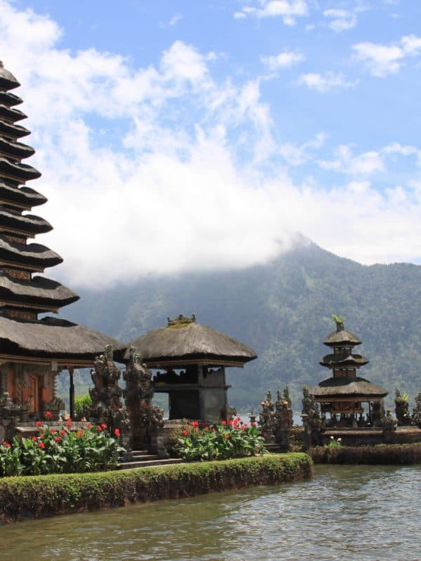 Pagoda in Indonesië