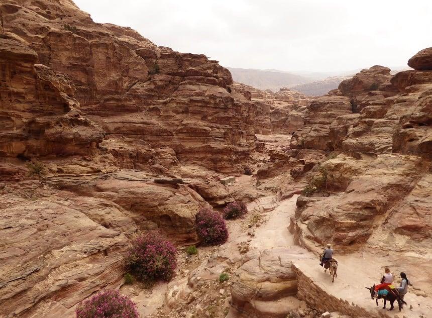 Petra jordan hike