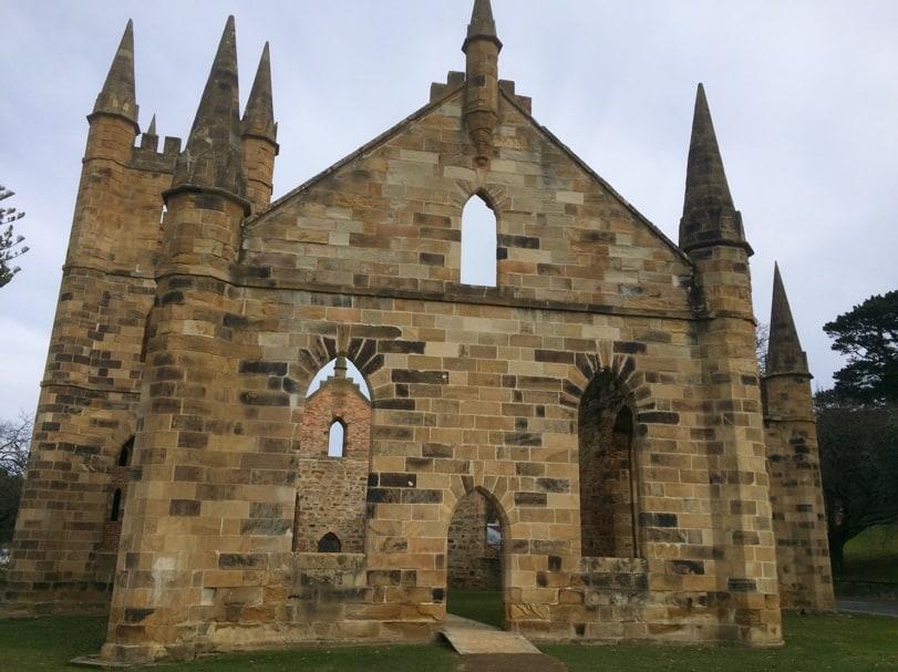 Port Arthur, waar je meer kunt leren over de geschiedenis van Tasmanië