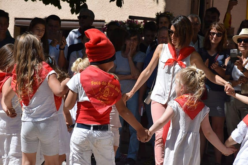 Traditionele kleding Focs de la Sant Joan