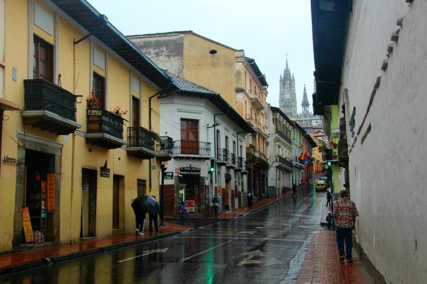 Quito, de hoofdstad van Ecuador, heeft een van de mooiste historische centra van Zuid-Amerika