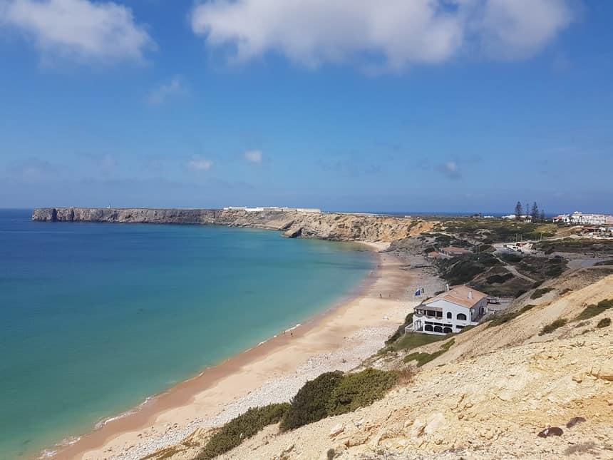 Sagres Algarve strand mareta