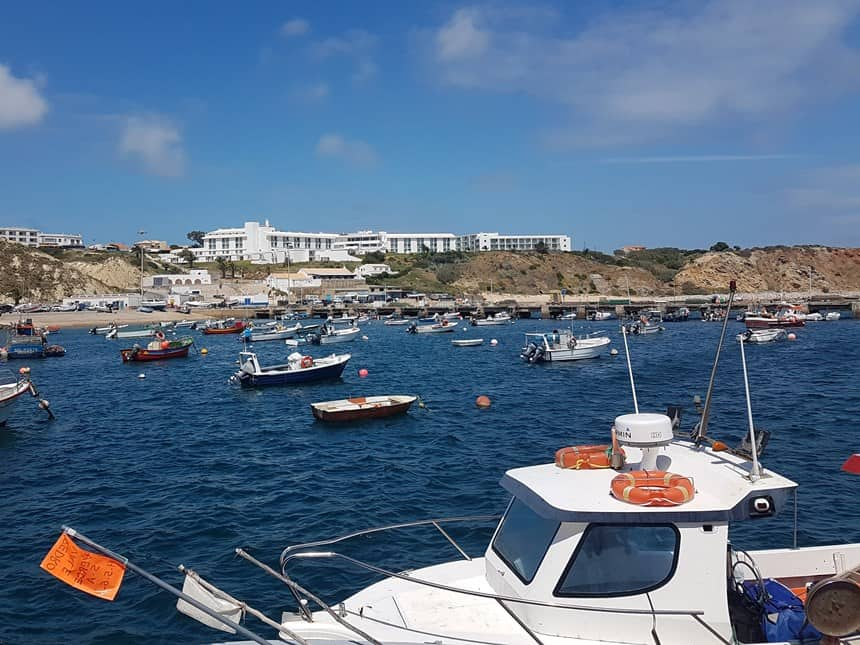 Sagres haven vissersboot