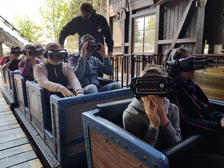 Sinds 2015 de eerste achtbaan met Virtual Reality bril