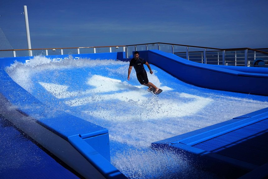 Test je surfskills bij the FlowRider