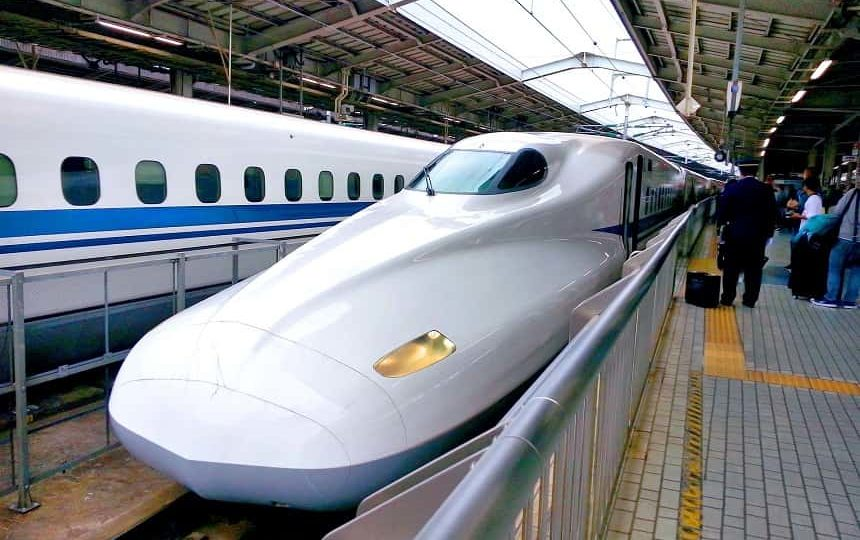Shinkansen bullettrain Japan