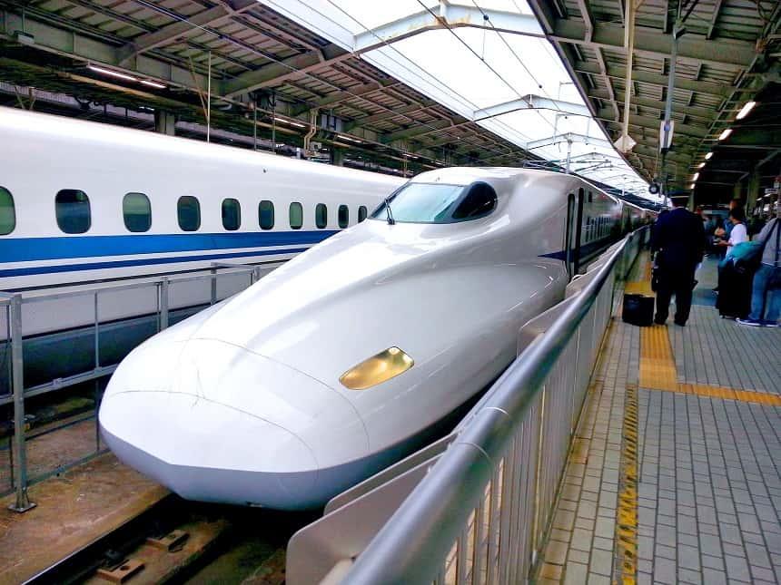reistips Azië: reis binnen Japan met de Shinkansen bullettrain Japan