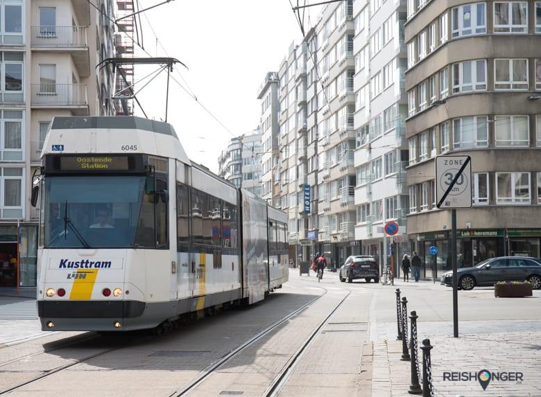 De kusttram van Oostende is met een traject van 67 km de langste tramlijn ter wereld
