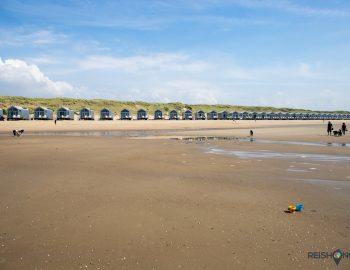 Logeren op het strand in Noord-Holland