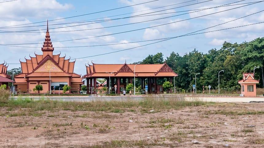 De Cambodiaanse grens