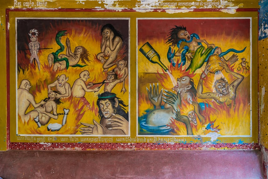 De boeddhistische versie van de hel
