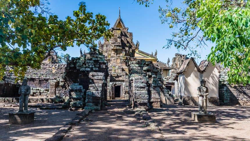 Het exterieur van Wat Nokor