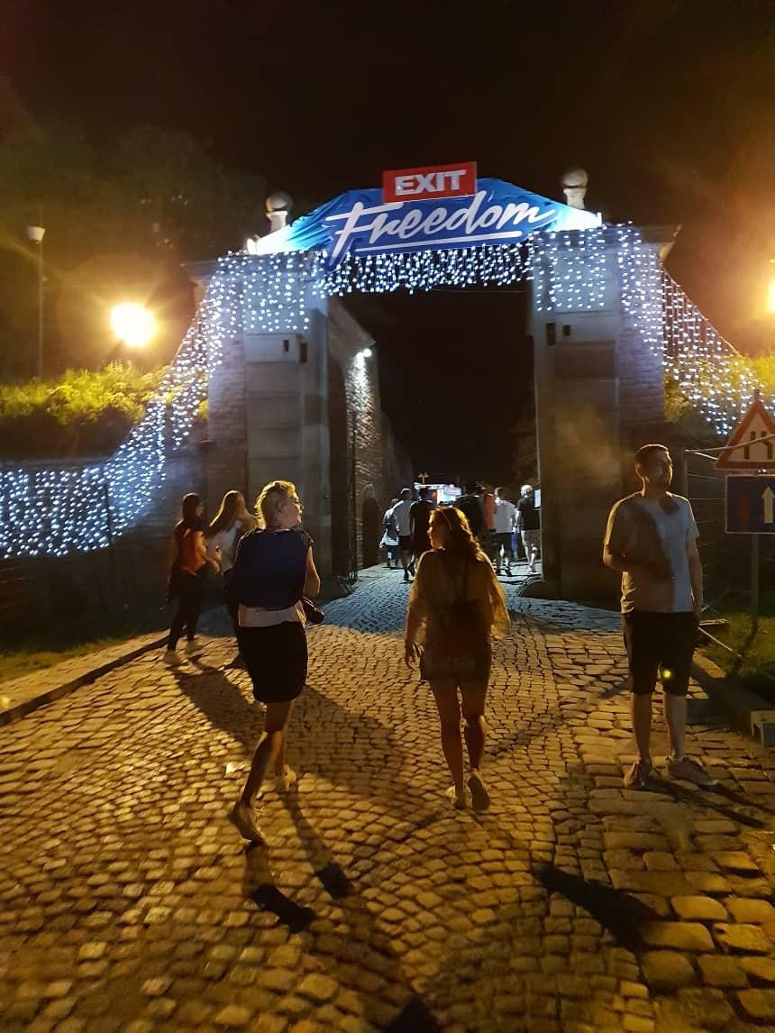 Ingang EXIT festival Servië