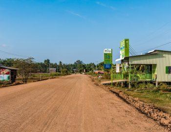 Langs de Mekong in Cambodja – Kratie