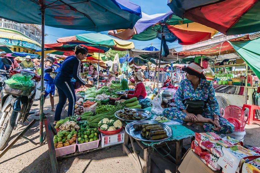 Marktje in het Centrum