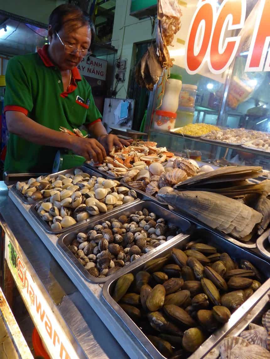 Seafood streetfood