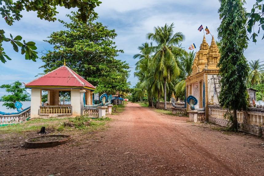Pad langs de Mekong
