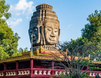 Langs de Mekong in Cambodja – Kampong Cham