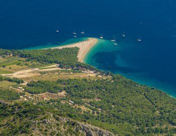 Eilanden in de Adriatische zee