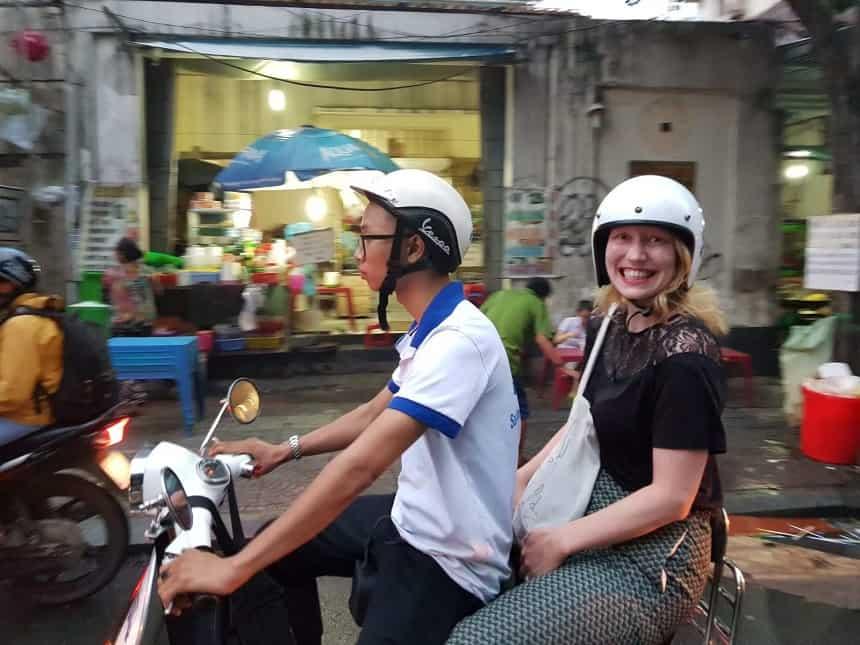Saigon Vespa Tours Brigitte de Graaff