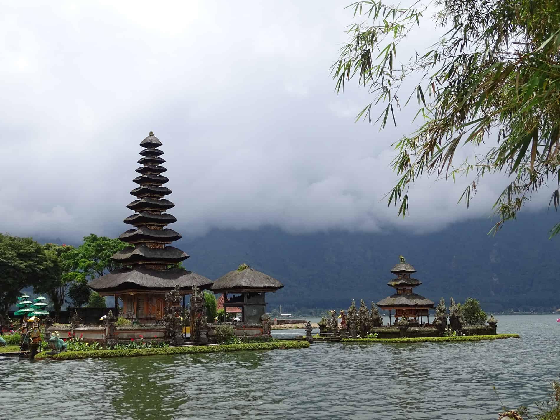 De Ulun Danu Bratan is een Balinese Pura, een hindoeïstische tempel op Bali
